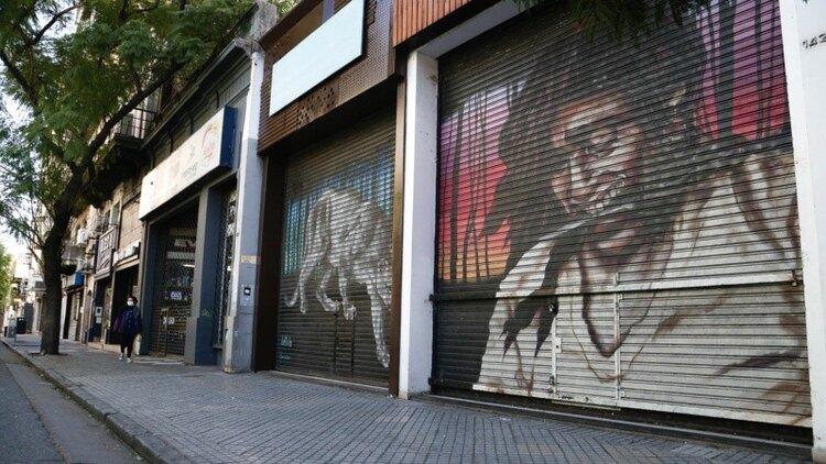Rosario, el microcentro y las galerías comerciales víctimas de la recesión