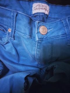 Aeropostale blue denim jeans