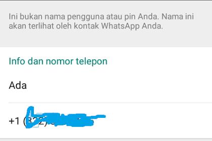 Cara Membuat Nomor Luar Negeri WhatsApp