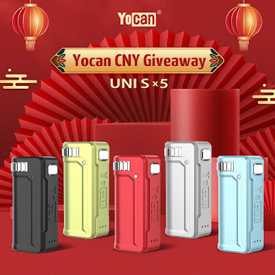 How to Enter Yocan UNI S Vape Mod CNY Giveaway 2021?