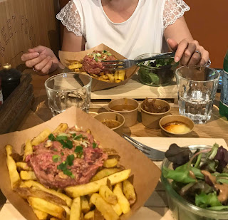 steack tartare frites - chrononutrition