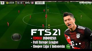 Download FTS 21 Full Europe League & Shopee Liga 1 Indonesia Update Latest Transfer