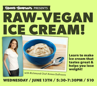 Raw vegan ice cream