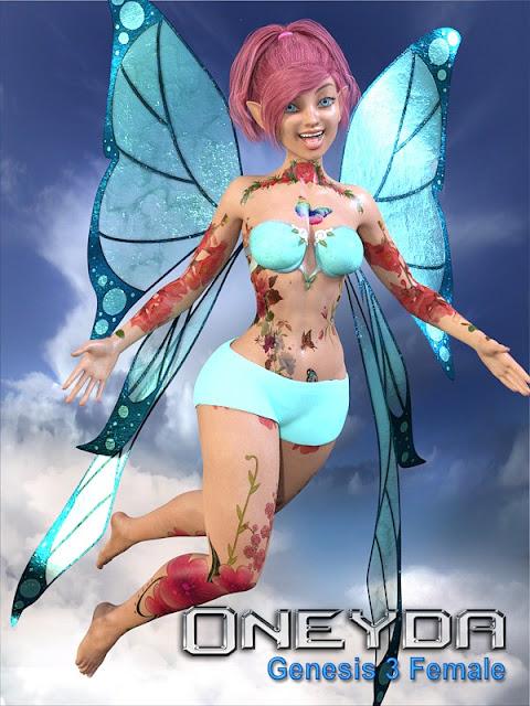 Oneyda for Genesis 3 Female