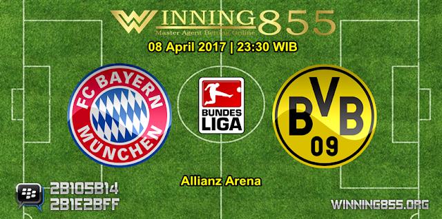 Prediksi Skor Bayern Munchen vs Borussia Dortmund 08 April 2017