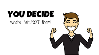 FAIRtax you decide what's fair not them grinning happy cartoon man