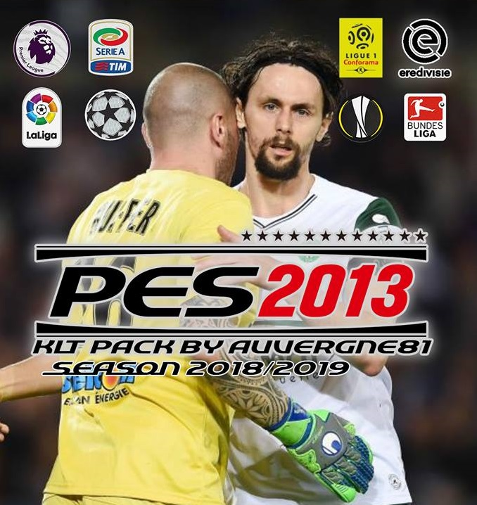 PES 2013 Kitpack By Auvergne81 Season 2018/2019 Update 26