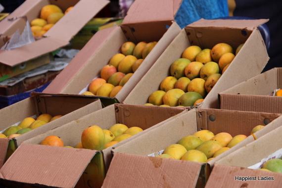 Alphonso Mango fruit boxes