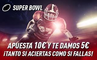 sportium Promoción Super Bowl 3 febrero 2020