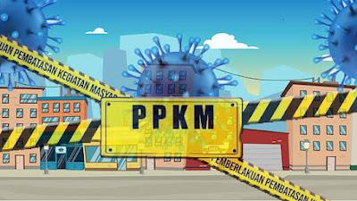 PPKM Level 4 Diperpanjang 26 s.d  2 Agustus 2021