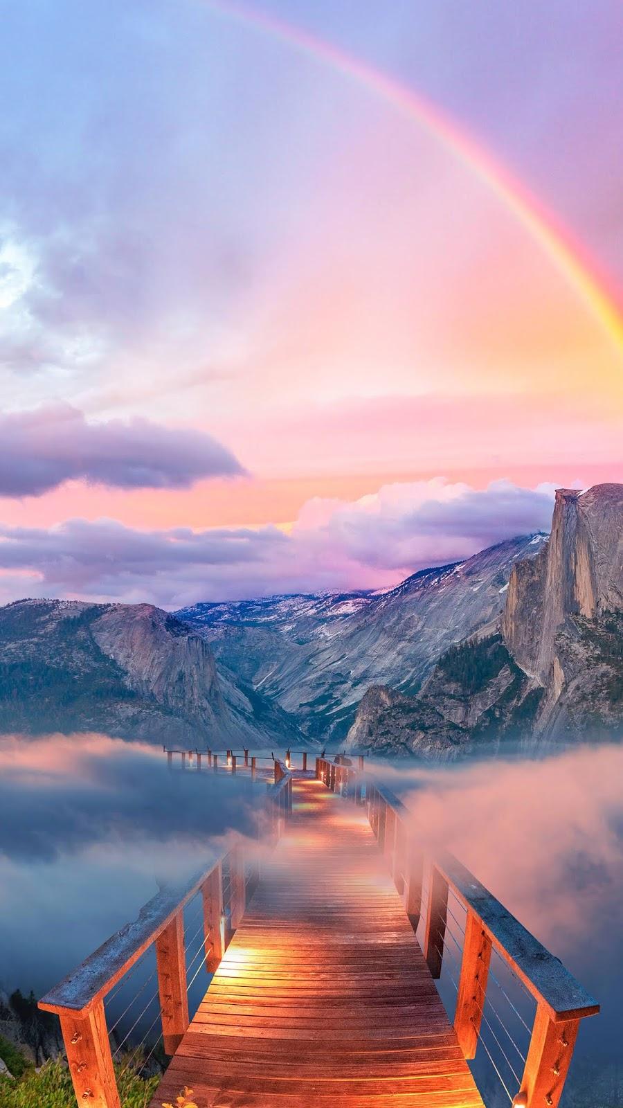 Way to the rainbow