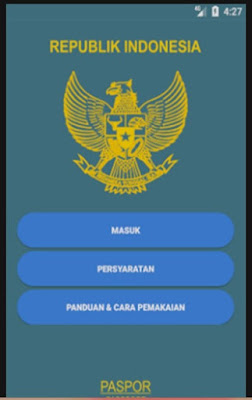 Apliasi Antrian Paspor Online Lama Tidak Bisa diakses