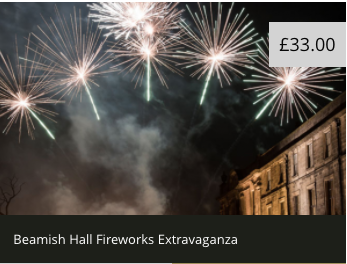 Where to Watch a Fireworks Display in North East England (2021)  - Beamish Hall Fireworks