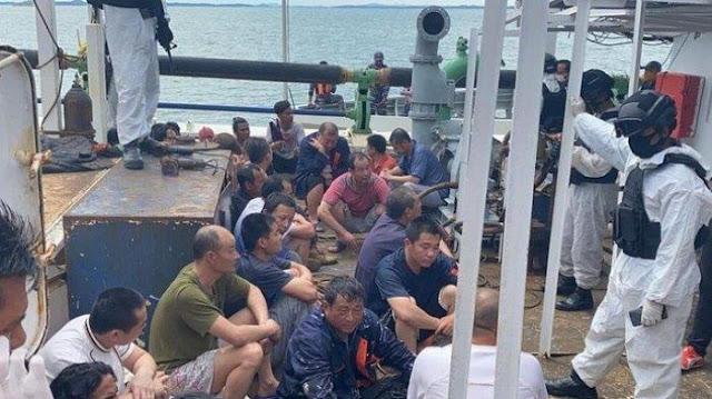 Aniaya ABK Indonesia, Satu WN China Ditahan Polda Kepri