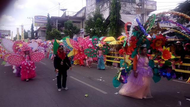 Ribuan Masyarakat Prabumulih,Antusias Tonton Karnaval