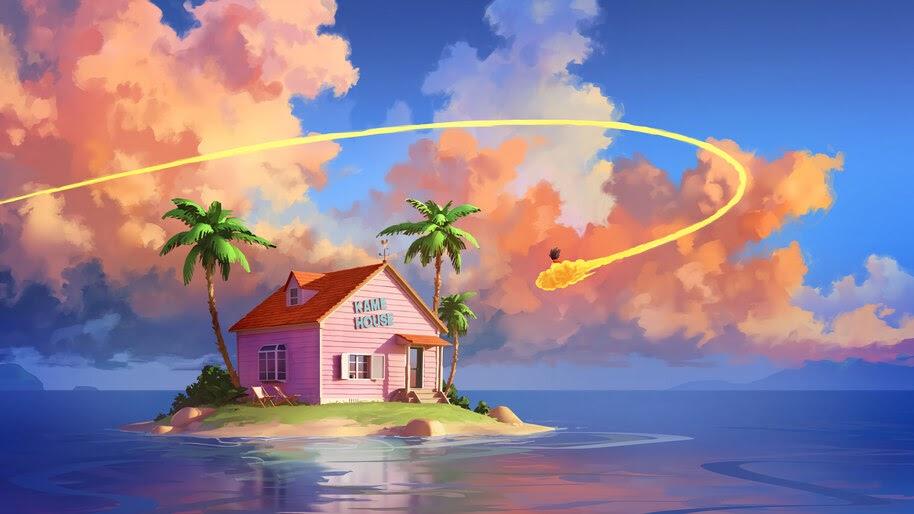 Kame House, Island, Dragon Ball, 4K, #6.2501