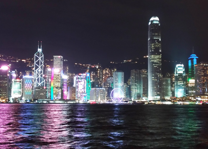 Hongkong Night  Lights