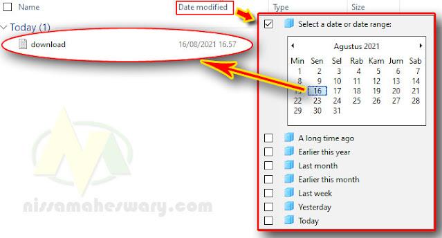 cara cepat mencari hasil file download yang hilang ata tidak muncul di laptop