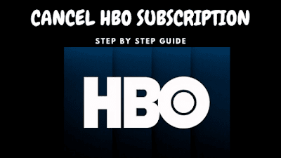 CANCEL HBO SUBSCRIPTION