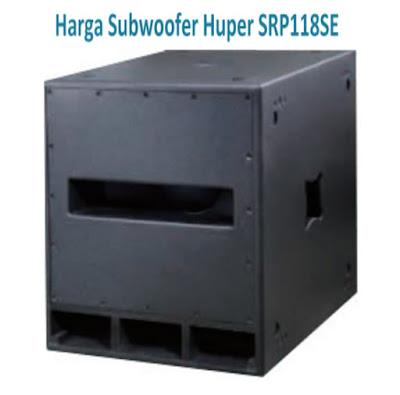 Harga Subwoofer Huper 18 inch