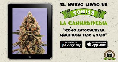 nuevo libro toni13 sobre el cultivo de cannabis