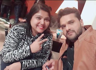 Pooja Ghosh and khesari lal yadav