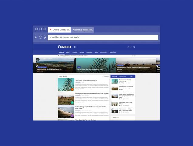 Ücretsiz Wordpress Blog Teması 2020: Gmedia