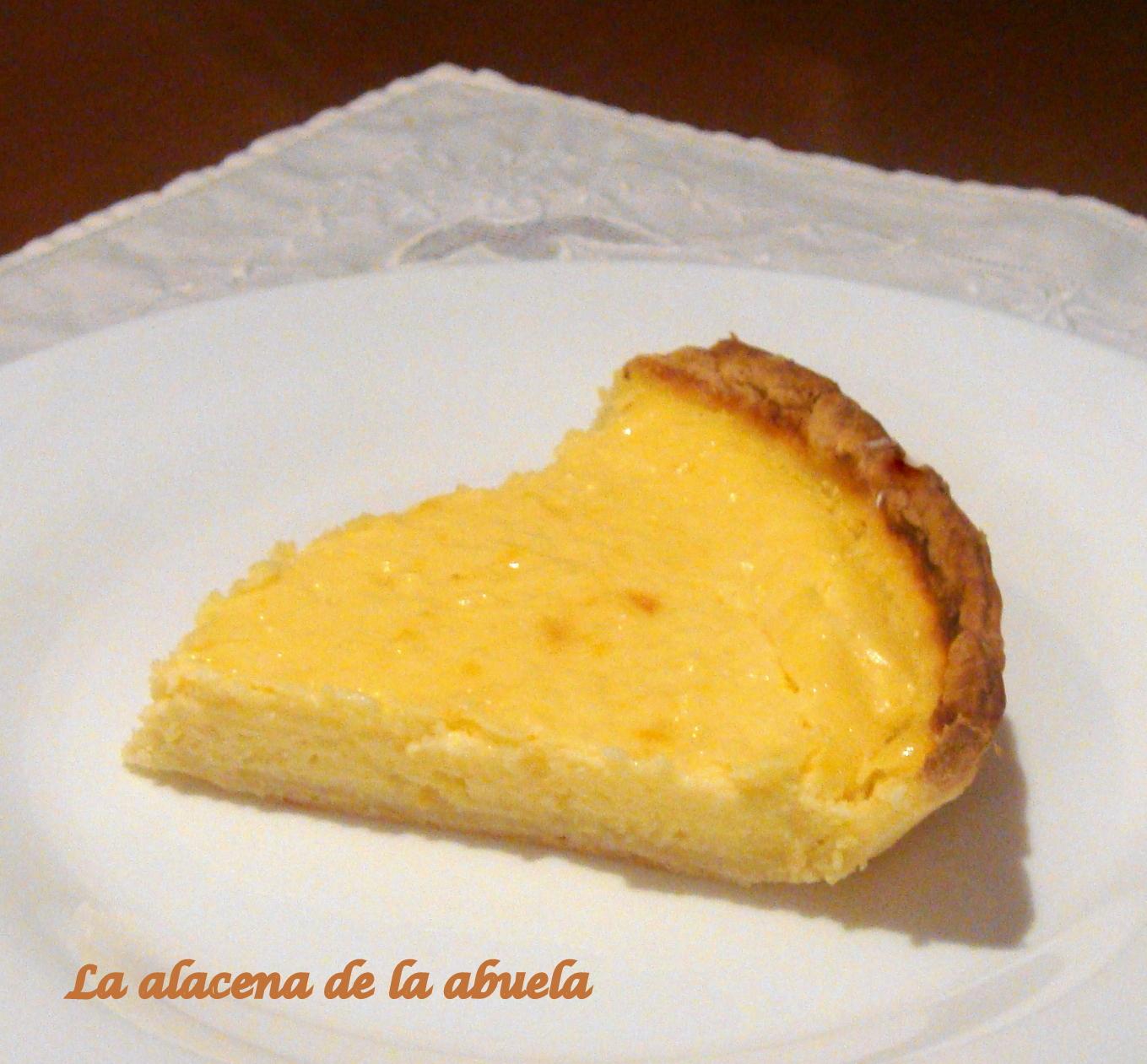 La alacena de la abuela carmen tarta de lim n for Cocina casera de la abuela