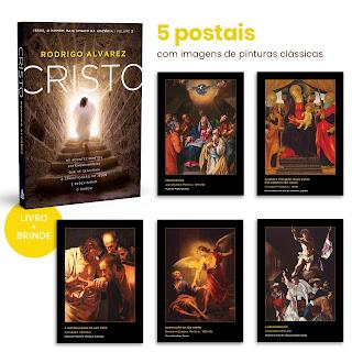 CRISTO + 5 POSTAIS - Rodrigo Alvarez