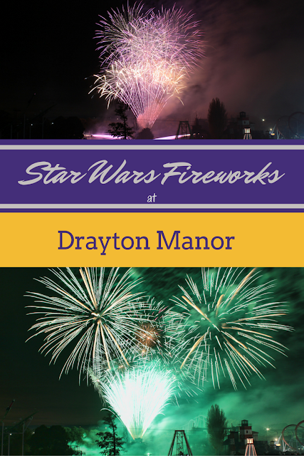 Star Wars Fireworks at Drayton Manor