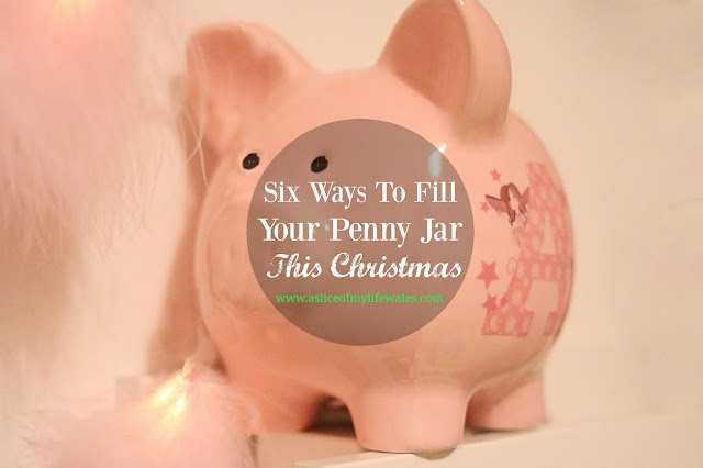 six ways to fill your penny jar this christmas - tips to save money at christmas