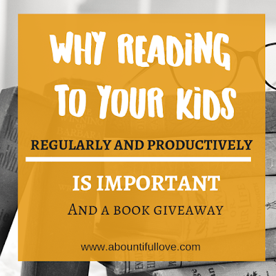 Why Reading to Your Kids Regularly and Productively is Important
