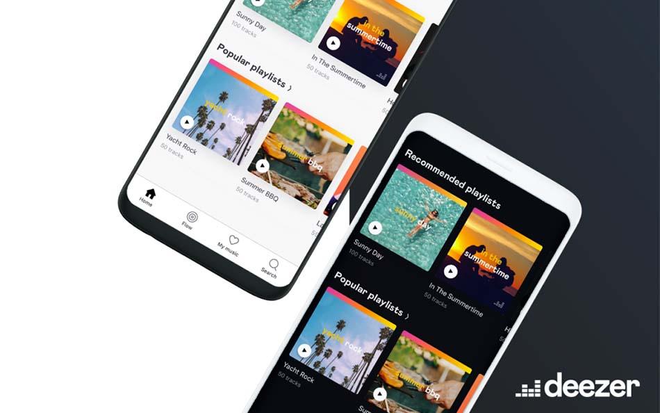 aplikasi streaming musik deezer
