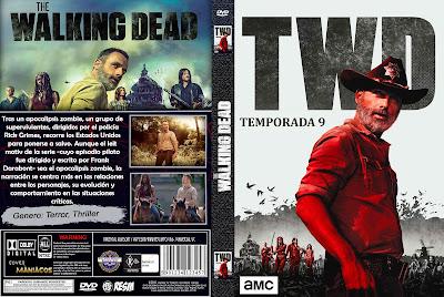 CARAULA THE WALKING DEAD TEMPORADA 9 - 2018 [COVER DVD]