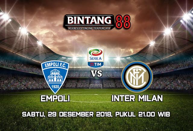 Prediksi Empoli Vs Inter Milan 29 Desember 2018