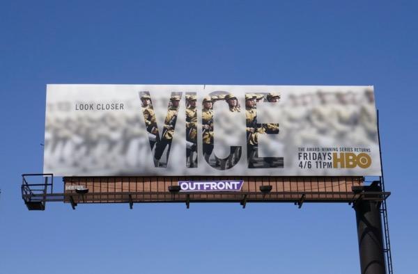 Vice season 6 HBO billboard