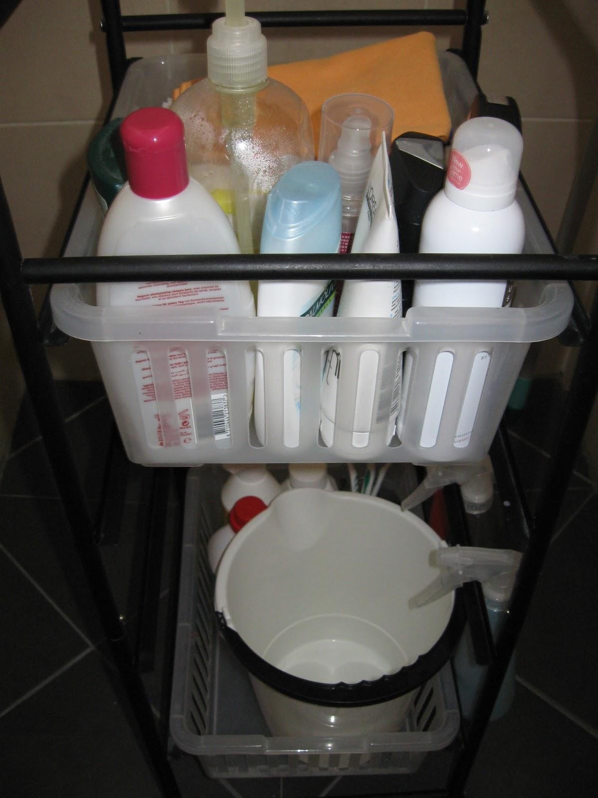 Uit het leven van alledag: Badkamer trolley organisatie