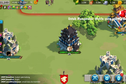 Panduan waktu untuk Rise of Kingdoms
