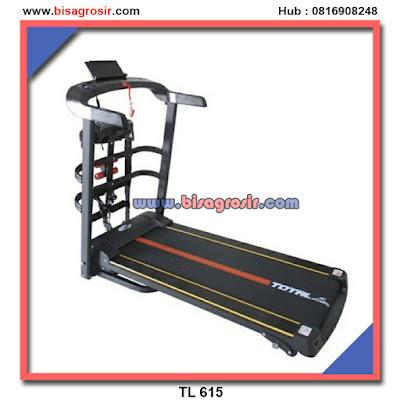 TL 615 Treadmill elektrik 3 in 1 Garansi 1th