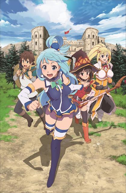 Novo anime de KonoSuba anunciado!