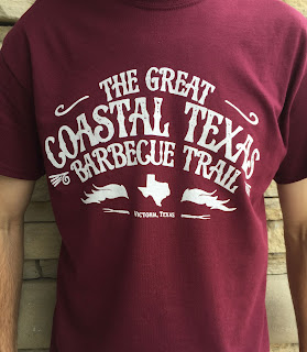 The Great Coastal Texas Barbecue Trail shirt
