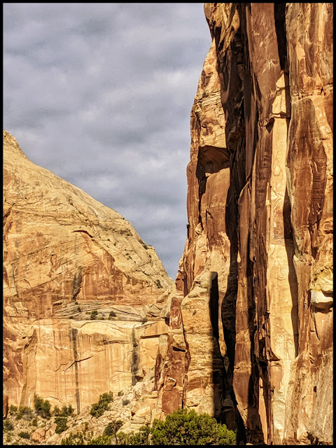 Grand Wash  - Capital Reef Utah
