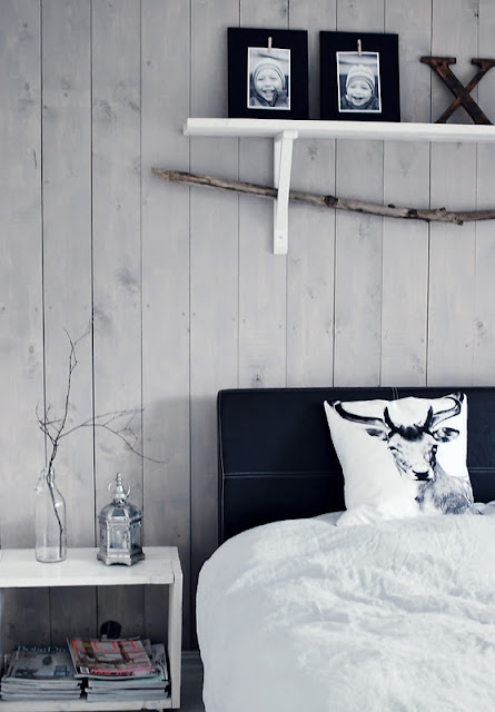 Laminaat Aan De Muur My Scandinavian Home: Cosy Bedrooms With A Log Cabin Feel