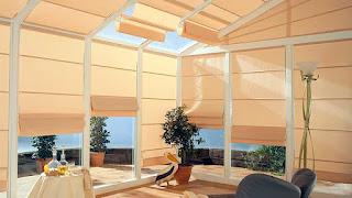 belső árnyékolás télikert teraszbeépítés