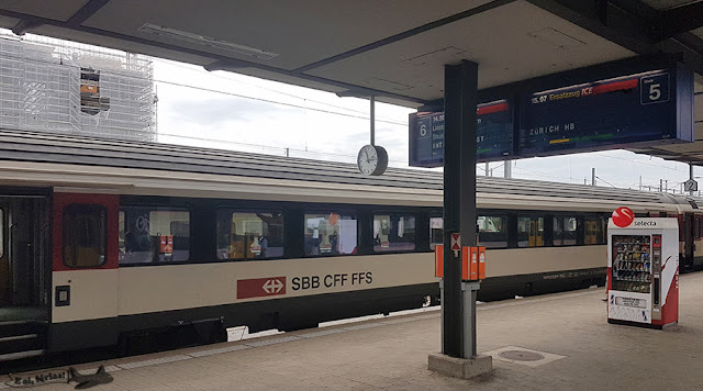 Estação de trem em Basileia