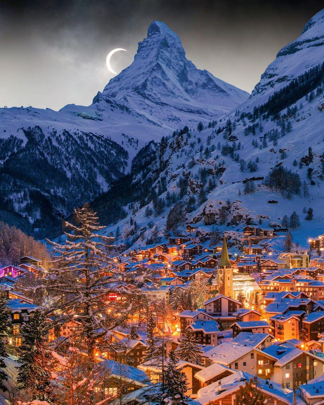 Wisata Salju Zematt Swiss
