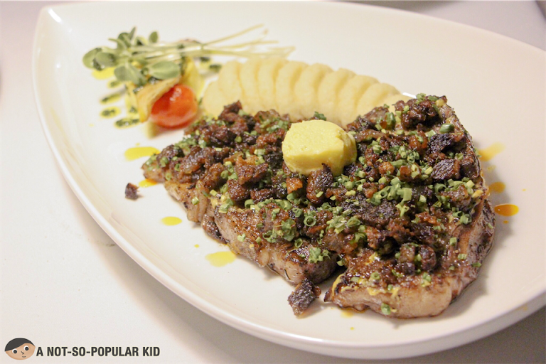 Steak in Bistro Manuel, Poblacion in Makati City