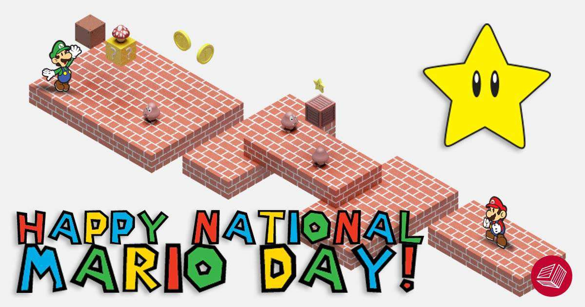 Mario Day Wishes For Facebook