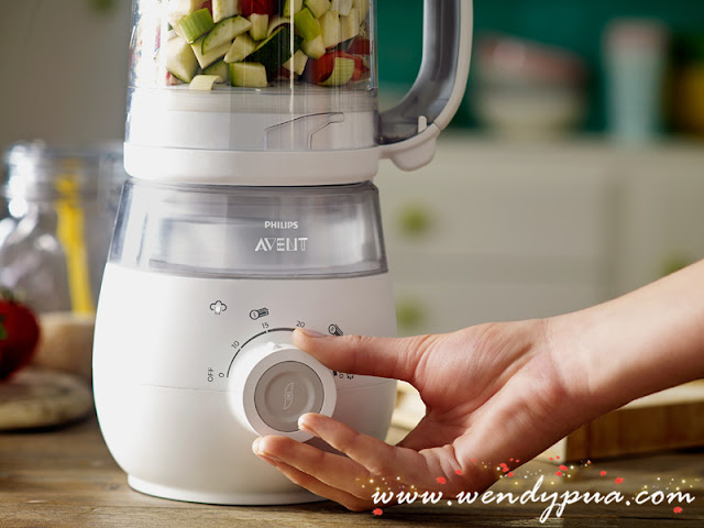Philips AVENT 4-in-1 Healthy Baby Food Maker 2