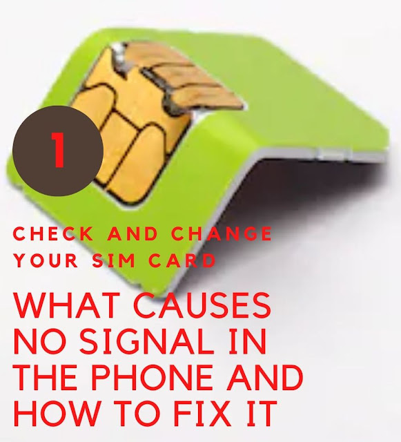 What Causes No Signal To Android Phone And Repair Step